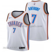Canotte Basket Bambino Oklahoma City Thunder 2018 Carmelo Anthony 7# Association Edition..