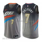 Canotte Basket Bambino Oklahoma City Thunder 2018 Carmelo Anthony 7# City Edition..