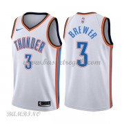Canotte Basket Bambino Oklahoma City Thunder 2018 Corey Brewer 3# Association Edition..