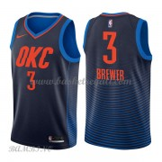 Canotte Basket Bambino Oklahoma City Thunder 2018 Corey Brewer 3# Statement Edition..