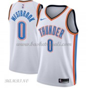 Canotte Basket Bambino Oklahoma City Thunder 2018 Russell Westbrook 0# Association Edition..