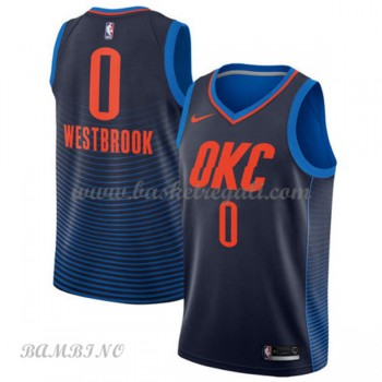Canotte Basket Bambino Oklahoma City Thunder 2018 Russell Westbrook 0# Statement Edition