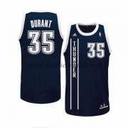 Maglie Basket NBA Oklahoma City Thunder Uomo 2015-16 Kevin Durant 35# Blue Alternate Swingman..