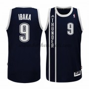 Maglie NBA Serge Ibaka 9# Blue Alternate 2015-16 Canotte Oklahoma City Thunder..