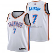 Maglie NBA Oklahoma City Thunder 2018 Canotte Carmelo Anthony 7# Association Edition..