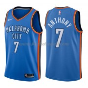 Maglie NBA Oklahoma City Thunder 2018 Canotte Carmelo Anthony 7# Icon Edition..