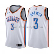 Maglie NBA Oklahoma City Thunder 2018 Canotte Corey Brewer 3# Association Edition..