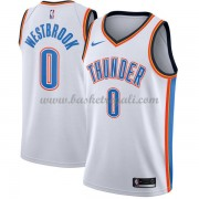 Maglie NBA Oklahoma City Thunder 2018 Canotte Russell Westbrook 0# Association Edition..