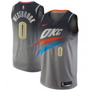 Maglie NBA Oklahoma City Thunder 2018 Canotte Russell Westbrook 0# City Edition..