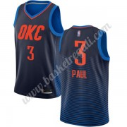 Maglie NBA Oklahoma City Thunder 2019-20 Chris Paul 3# Blu Statement Edition Canotte Swingman..