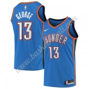 Maglie NBA Oklahoma City Thunder 2019-20 Paul George 13# Blu Icon Edition Canotte Swingman..