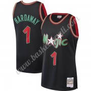 Maglie NBA Orlando Magic 1993-94 Penny Hardaway 1# Nero Hardwood Classics Canotte Swingman..