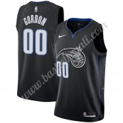 Maglie NBA Orlando Magic 2019-20 Aaron Gordon 00# Nero City Edition Canotte Swingman..