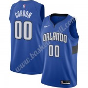 Maglie NBA Orlando Magic 2019-20 Aaron Gordon 00# Blu Finished Statement Edition Canotte Swingman..