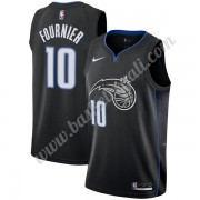 Maglie NBA Orlando Magic 2019-20 Evan Fournier 10# Nero City Edition Canotte Swingman..