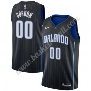 Maglie NBA Orlando Magic 2019-20 Aaron Gordon 00# Nero Icon Edition Canotte Swingman..