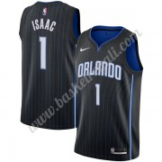 Maglie NBA Orlando Magic 2019-20 Jonathan Isaac 1# Nero Icon Edition Canotte Swingman..