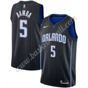 Maglie NBA Orlando Magic 2019-20 Mohamed Bamba 5# Nero Icon Edition Canotte Swingman..