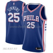 Canotte Basket Bambino Philadelphia 76ers 2018 Ben Simmons 25# Icon Edition..