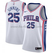 Maglie NBA Philadelphia 76ers 2018 Canotte Ben Simmons 25# Association Edition..