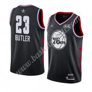 Maglie Basket NBA Philadelphia 76ers 2019 Jimmy Butler 23# Nero All Star Game Canotte Swingman..