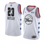 Maglie Basket NBA Philadelphia 76ers 2019 Jimmy Butler 23# Bianca All Star Game Canotte Swingman..