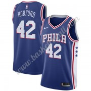 Maglie NBA Philadelphia 76ers 2019-20 Al Horford 42# Blu Icon Edition Canotte Swingman..