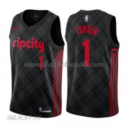 Canotte Basket Bambino Portland Trail Blazers 2018 Evan Turner 1# City Edition..