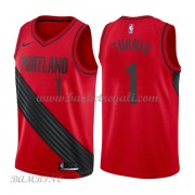 Canotte Basket Bambino Portland Trail Blazers 2018 Evan Turner 1# Statement Edition..