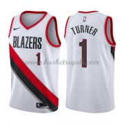 Maglie NBA Portland Trail Blazers 2018 Canotte Evan Turner 1# Association Edition..
