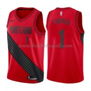 Maglie NBA Portland Trail Blazers 2018 Canotte Evan Turner 1# Statement Edition..