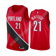 Maglie NBA Portland Trail Blazers 2019-20 Hassan Whiteside 21# Rosso Statement Edition Canotte Swing..