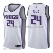 Canotte Basket Bambino Sacramento Kings 2018 Buddy Hield 24# Association Edition..