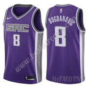Canotte Basket Bambino Sacramento Kings 2019-20 Bogdan Bogdanovic 8# Viola Icon Edition Swingman..