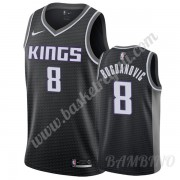 Canotte Basket Bambino Sacramento Kings 2019-20 Bogdan Bogdanovic 8# Nero Statement Edition Swingman..