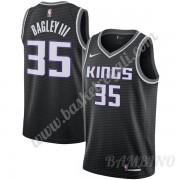 Canotte Basket Bambino Sacramento Kings 2019-20 Marvin Bagley III 35# Nero Statement Edition Swingma..