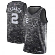 Maglie NBA San Antonio Spurs 2018 Canotte Kawhi Leonard 2# City Edition..