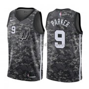 Maglie NBA San Antonio Spurs 2018 Canotte Tony Parker 9# City Edition..
