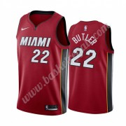 Maglie NBA Miami Heat 2019-20 Jimmy Butler 22# Rosso Statement Edition Canotte Swingman..