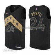 Canotte Basket Bambino Toronto Raptors 2018 Norman Powell 24# City Edition..