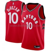 Maglie NBA Toronto Raptors 2018 Canotte DeMar DeRozan 10# Icon Edition..
