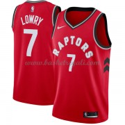 Maglie NBA Toronto Raptors 2018 Canotte Kyle Lowry 7# Icon Edition..