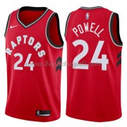 Maglie NBA Toronto Raptors 2018 Canotte Norman Powell 24# Icon Edition..