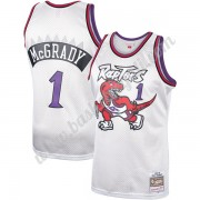 Maglie NBA Toronto Raptors 1998-99 Tracy McGrady 1# Platinum Hardwood Classics Canotte Swingman..
