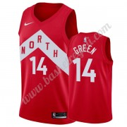 Maglie NBA Toronto Raptors 2019-20 Danny Green 14# Rosso Earned Edition Canotte Swingman..