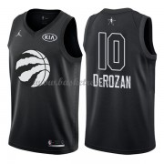 Divise Basket Toronto Raptors s DeMar DeRozan 10# Nero 2018 All Star Game..