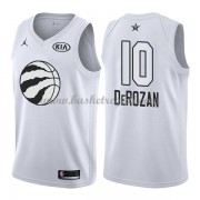 Divise Basket Toronto Raptors s DeMar DeRozan 10# Bianca 2018 All Star Game..