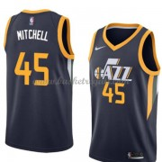 Maglie NBA Utah Jazz 2018 Canotte Donovan Mitchell 45# Icon Edition..
