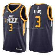 Maglie NBA Utah Jazz 2018 Canotte Ricky Rubio 3# Icon Edition..