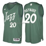 Magliette Basket Utah Jazz 2016 Gordon Hayward 20# NBA Natale Swingman..